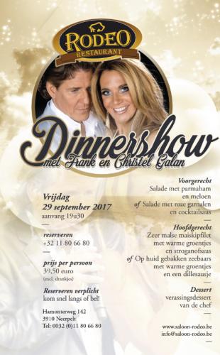 Dinnershow Frank en Christel Galan
